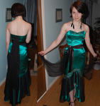 Prom dress complete! by Parka-Posy