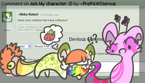 :Ask my Character#4: by PrePAWSterous