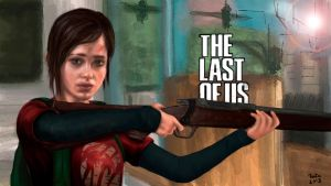Ellie - The last of Us by rafaeljbi