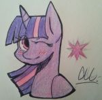 Princess Twilight Sparkle half body by blackburn789