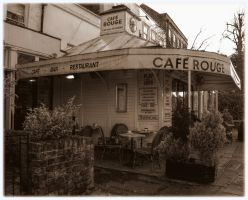 Cafe Rouge by Isyala