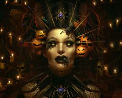 Hallow's Eve by LeAndraDawn