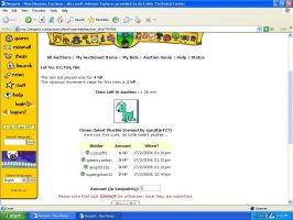 Neopet Auction Glitch by campsoup1988
