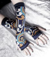 Among the Kells Arm Warmers by ZenAndCoffee