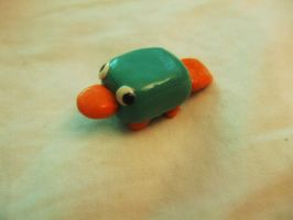 Polymer Perry the platypus by Number1FMAfangirl