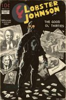 Lobster Johnson Pulp cover by didism