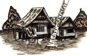 Kampung House by rarachan