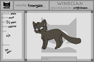 WOTW Frozengaze by CoughEBeanz