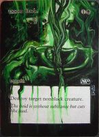 Magic Card Alteration: Doomblade 10-11 by Ondal-the-Fool