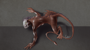 Quick Creature Design by Yveo
