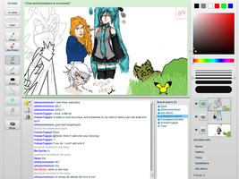 iScribble drawings -3- by MeiTakahashi