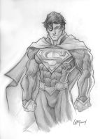 New 52 Superman by GavinMichelli