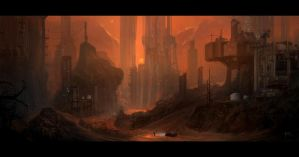 Abandoned Mining Facility by TomEdwardsConcepts