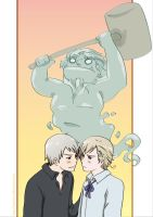 APH: Prussia x Norway by carichan