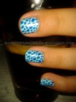 Irregular dots nails by kotobayaoi