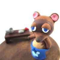 Animal Crossing Tom Nook figure by TrenoNights