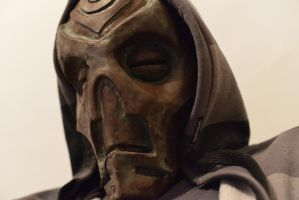 Skyrim Dragon Priest Mask WIP by Deviant-Kaneda