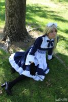 APH: Sitting in the shade by InuKid