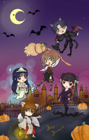 Especial Halloween 2012 by hikari-sys