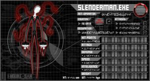 Commission: SlenderMan.EXE by Higure-san