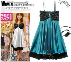 Korean Fashion Evening Dresses by fashionclothing4u