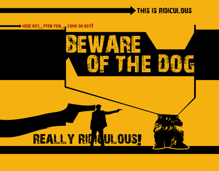 beware of the dog by jimjack