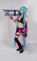 League of Legends: Jinx by Kaira27