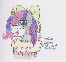 REQUEST: Babbling Brooke Cake by Stickman16