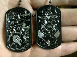 dog tags.... by blksun