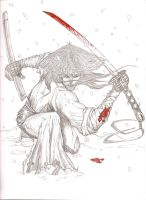Wounded Samurai by Zepeda