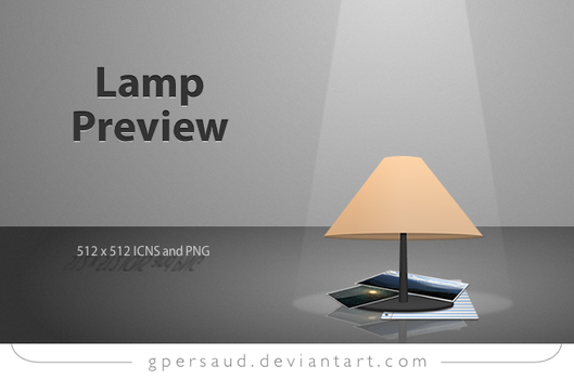 Lamp Preview by gpersaud