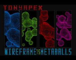 Wireframe Metballs Pack By TonyApex by TonyApex