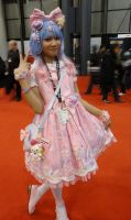 NYCC'11 Anime Girl by zer0guard