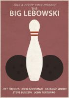 The Big Lebowski Poster by countevil