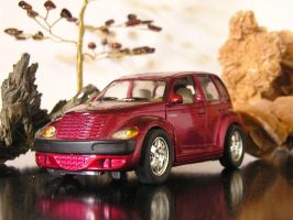 PT Cruiser with setting by wickedlady