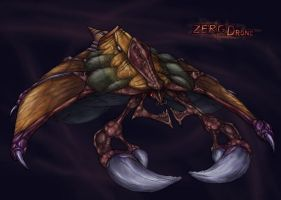 Zerg Drone by FriendlyWarlord