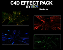 C4D Effect Pack by Sky by 665AlmostEvil