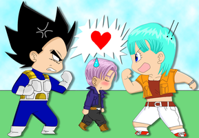 A True Couple by Dbzbabe