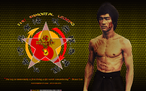 BRUCE LEE: THE IMMORTAL LEGEND: R.I.P. by CSuk-1T