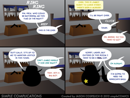 SC586 - Murder in Circle City 1 by simpleCOMICS