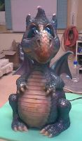Baby Dragon Full Figure by MJBivouac