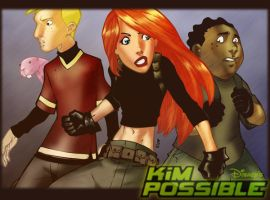 Kim Possible by lroyburch