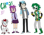Ghost Hedgies by sonicandgunso