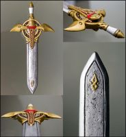 Sonic's sword finished by SomaKun