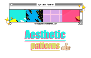 Aesthetic / Patterns by fattyBear