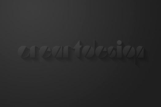 3D Text Effect .PSD by YesIMaDesigner