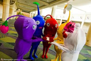 Pikmin Pals by CosplayCousins