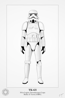 Imperial Stormtrooper - TK-421 by Artifician