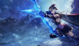 Ashe by RiotGamesINC