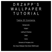 DrZapp's Wallpaper Tutorial by DrZapp